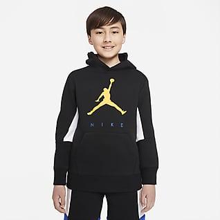 Jordan Pullover-hættetrøje til større børn (drenge)