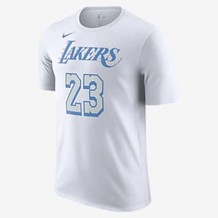 Los Angeles Lakers City Edition Nike NBA-T-Shirt für Herren