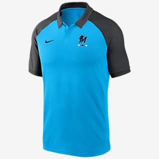 Nike Dri-FIT Legacy (MLB Miami Marlins) Men's Polo
