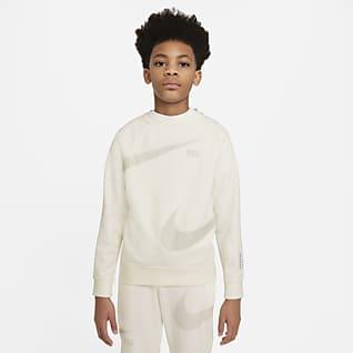 Nike Sportswear Swoosh Sudadera para niños talla grande