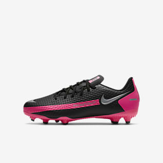 Nike Jr. Phantom GT Academy MG Fodboldstøvle til flere typer underlag til små/store børn