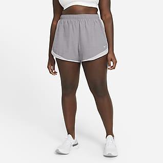 Nike Tempo Shorts de running jaspeados para mujer (talla grande)