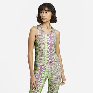 Nike Air Camiseta de tirantes de running estampada - Mujer