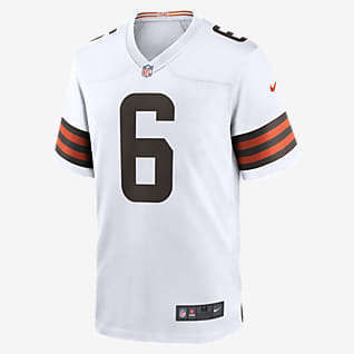 NFL Cleveland Browns (Baker Mayfield) Men's Game Football Jersey