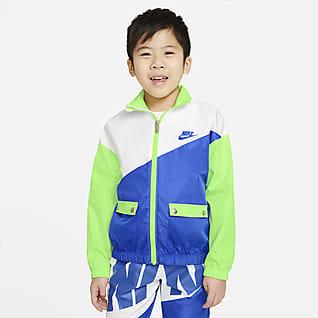 Nike Chamarra plegable para niños talla pequeña