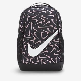 Nike Brasilia เป้สะพายหลังเด็กพิมพ์ลาย