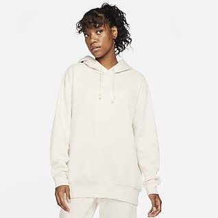 Nike Sportswear Essential Collection Extragroßer Fleece-Hoodie für Damen