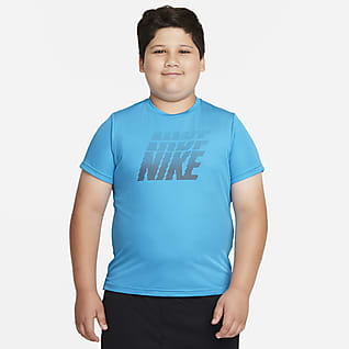 Nike Dri-FIT Breathe Big Kids' (Boys') Graphic Short-Sleeve Top (Extended Size)