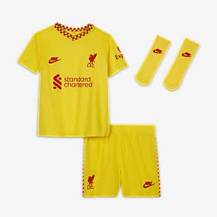 Третий комплект формы ФК «Ливерпуль» 2021/22 Комплект для малышей
