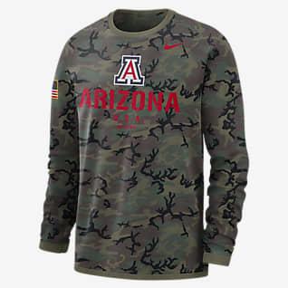 Nike College Dri-FIT (Arizona) Men's Long-Sleeve Sweatshirt