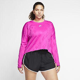 Nike Air Camisola de running de manga comprida para mulher (tamanhos grandes)