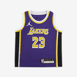 洛杉矶湖人队 Statement Edition Jordan NBA Swingman Jersey 婴童球衣