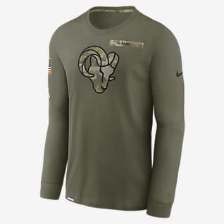 Nike Dri-FIT Salute to Service (NFL Los Angeles Rams) Men's Long-Sleeve T-Shirt