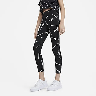 Nike Sportswear Favourites Older Kids' (Girls') Printed Leggings
