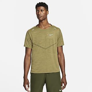 Nike Dri-FIT ADV Techknit Ultra Pánské běžecké tričko s krátkým rukávem