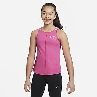 Nike Dri-FIT 大童 (女童) 訓練背心
