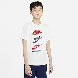 Nike Sportswear Playera para niño talla grande