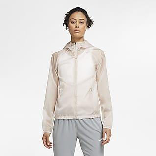 Nike Chamarra de running de cierre completo con capucha para mujer