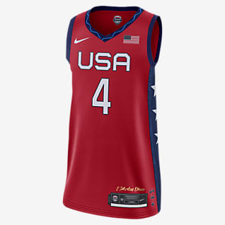 Nike Team USA (Jewell Loyd) (Road) Women's Basketball Jersey
