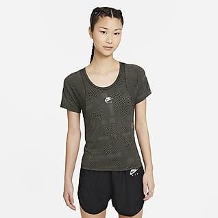 Nike Air Dri-FIT เสื้อวิ่งแขนสั้นผู้หญิง