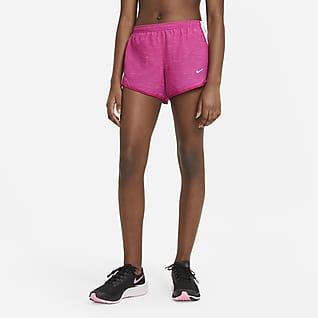 Nike Dri-FIT Tempo กางเกงวิ่งขาสั้นเด็กโต (หญิง)
