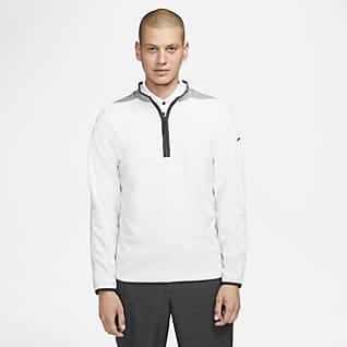 Nike Therma-FIT Victory Rövid cipzáras férfi golffelső