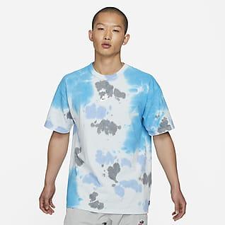 Nike Sportswear T-shirt med batikmönster för män
