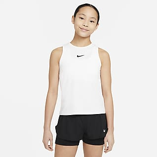 NikeCourt Dri-FIT Victory Φανελάκι τένις για μεγάλα κορίτσια