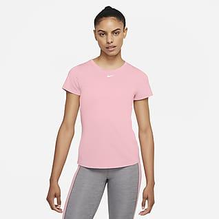 Nike Dri-FIT One Haut à manches courtes et coupe slim pour Femme