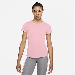 Nike Dri-FIT One Damska koszulka z krótkim rękawem o dopasowanym kroju