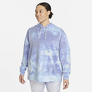 Nike Icon Clash Γυναικείο φούτερ προπόνησης με κουκούλα (μεγάλα μεγέθη)