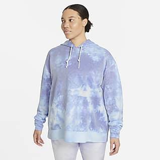 Nike Icon Clash Sudadera con capucha de entrenamiento sin cierre para mujer talla grande
