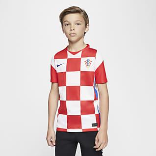 Croatia 2020 Stadium Home Big Kids' Soccer Jersey