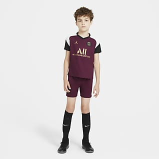 Paris Saint-Germain alternativo 2020/21 Kit de fútbol para niños talla pequeña
