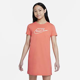 Nike Sportswear T-shirt-kjole til større børn (piger)