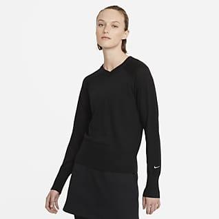 Nike Ace Langarm-Golf-Sweatshirt für Damen