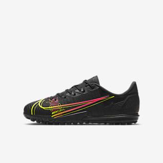 Nike Jr. Mercurial Vapor 14 Academy TF Ποδοσφαιρικό παπούτσι για χλοοτάπητα για μικρά/μεγάλα παιδιά