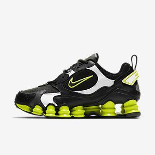 scarpe nike shox uomo nere e gialle