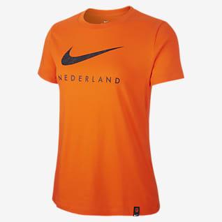 Netherlands Women's Football T-Shirt