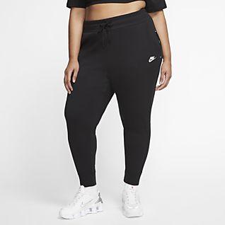 Calças Nike Sportswear Tech Fleece Mulher (tamanhos grandes)