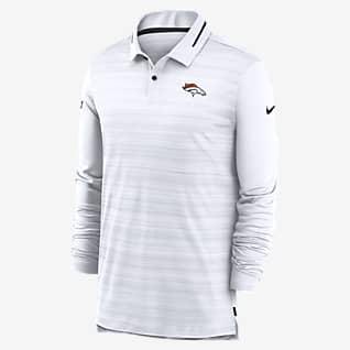 Nike Logo (NFL Broncos) Men's Long-Sleeve Polo
