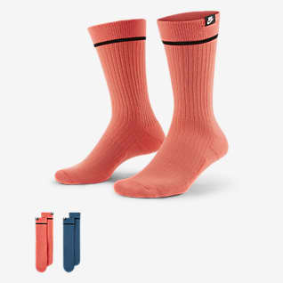 Nike SNKR Sox Unisex κάλτσες μεσαίου ύψους (δύο ζευγάρια)