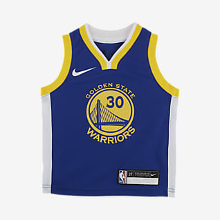 金州勇士队 (Stephen Curry) Icon Edition Nike NBA Replica Jersey 婴童球衣