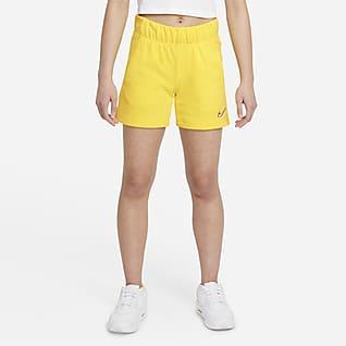 Nike Sportswear Taneční kraťasy zfrancouzského froté pro větší děti (dívky)