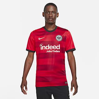 Eintracht Frankfurt 2021/22 Stadium Away Fodboldtrøje til mænd