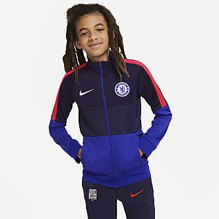 Chelsea FC Fußball-Track-Jacket für Kinder