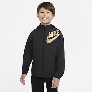 Nike Sportswear Windrunner Chamarra para niño talla grande