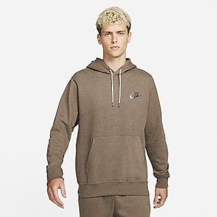 Nike Sportswear Sport Essentials+ Kapucnis, belebújós férfipulóver