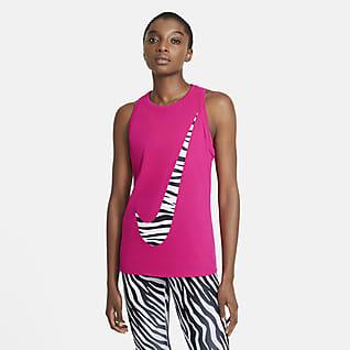 Nike Dri-FIT Camiseta de tirantes de entrenamiento Icon Clash para mujer
