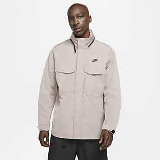 Nike Sportswear Premium Essentials Chamarra M65 con gorro y sin forro para hombre